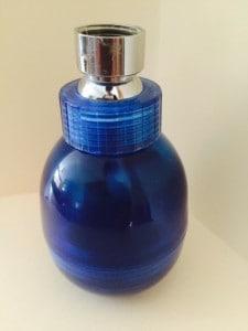 Dynamically Enhanced Cobalt Blue Shower Head