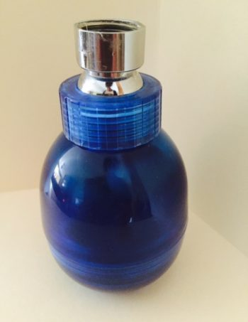Dynamically Enhanced Cobalt Blue Shower Head